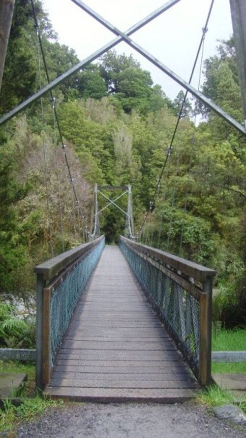 Bridge to Lake Matheson