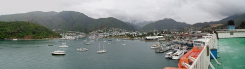 Picton - the gateway to New Zealand's South Island