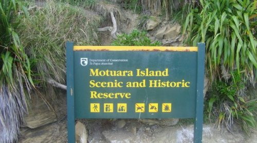 Motuara Island Scenic and Historic Reserve