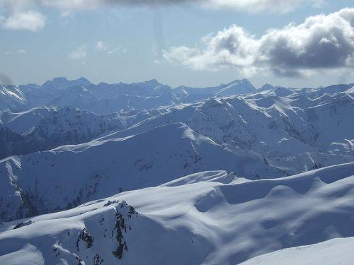 Looking west from Coronet Peak