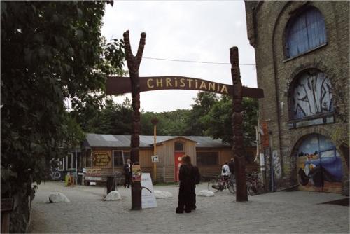 Entrance to Christiania